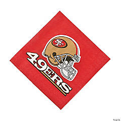 Paper NFL® San Francisco 49ers™ Luncheon Napkins