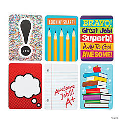 Paper Notes From Your Teacher Cards