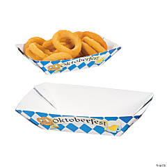 "Paper ""Oktoberfest"" Serving Trays"