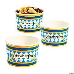 Paper Oktoberfest Snack Bowls