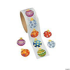 Paper Ornament Roll of Stickers