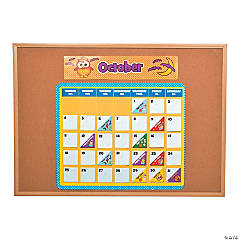 Paper Owl Bulletin Board Calendar Kit