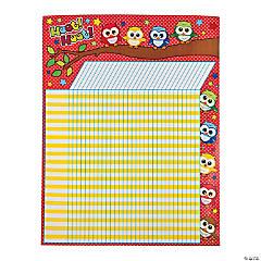 Paper Owl Classroom Reward Chart
