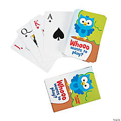 Paper Owl Playing Cards