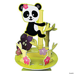 Paper Panda Party Centerpiece