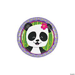 Paper Panda Party Dessert Plates