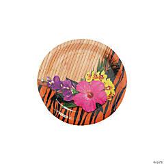 Paper Paradise Safari Paper Dessert Plates - 8 Ct.
