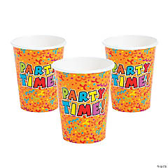 Paper Party Time Cups