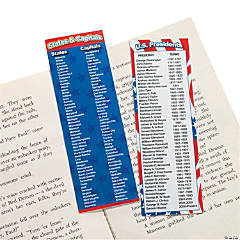 Paper Patriotic Bookmarks