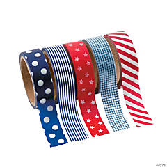 Paper Patriotic Washi Tape Set
