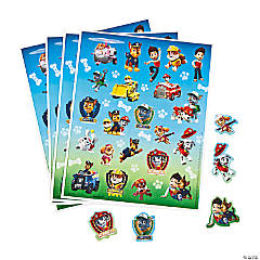 Paper Paw Patrol Stickers
