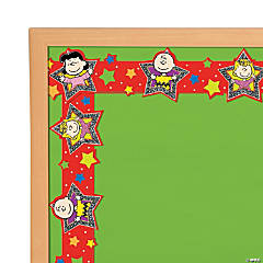Paper Peanuts® Characters Bulletin Board Borders