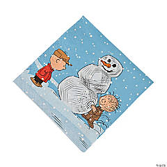 Paper Peanuts® Christmas Luncheon Napkins