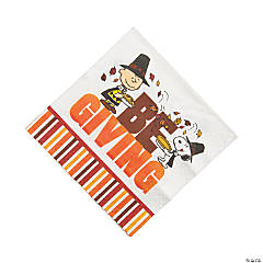 Paper Peanuts® Thanksgiving Luncheon Napkins