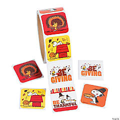Paper Peanuts® Thanksgiving Stickers