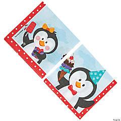 Paper Penguin Party Beverage Napkins