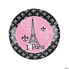 Paper Perfectly Paris Dinner Plates