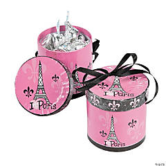 Paper Perfectly Paris Hat Treat Boxes