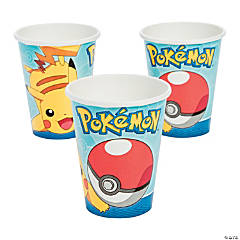 Paper Pikachu & Friends Cups
