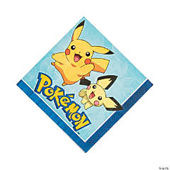 Paper Pikachu & Friends Luncheon Napkins