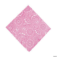 Paper Pink Cowgirl Luncheon Napkins