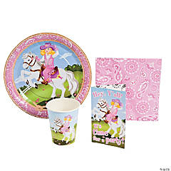 Paper Pink Cowgirl Tableware/Invites