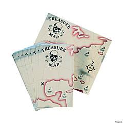 Paper Pirate Treasure Maps