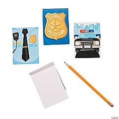 Paper Police Party Notepads