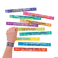 Paper Polite Wristbands