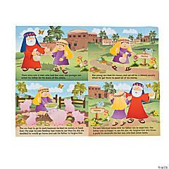 Paper Prodigal Son Sticker Scenes