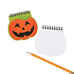 Paper Pumpkin Spiral Notepads
