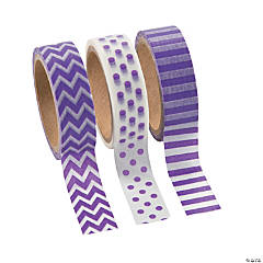 Paper Purple Washi Tape Set