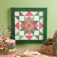 Paper Quilt Block Star Idea
