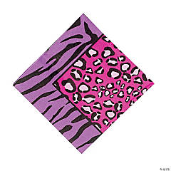 Paper Rock Star Diva Luncheon Napkins