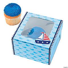 Paper Sailor Cupcake Boxes