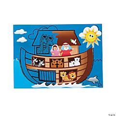 Paper Scratch 'N Reveal Noah's Ark Activities