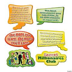 Paper Secret Millionaires Club™ Cutouts