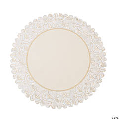 Paper Shabby Chic Lace Place Mats