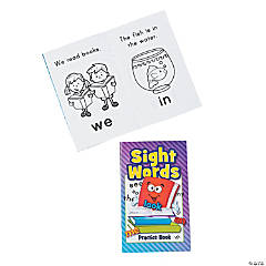 Paper Sight Word Activity Books