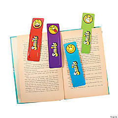 Paper Smile Face Bookmarks
