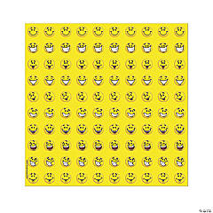 Paper Smile Faces Mini Stickers