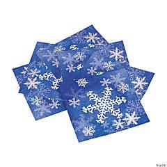 Paper Snowflake Napkins