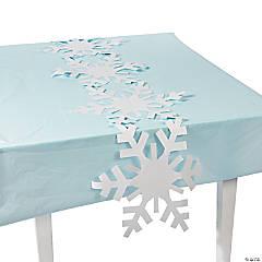 Paper Snowflake Table Runner