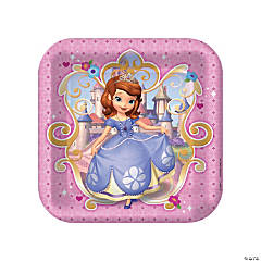 Paper Sofia The First Dinner Plates