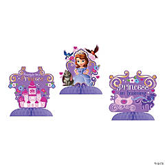 Paper Sofia The First Table Decorations