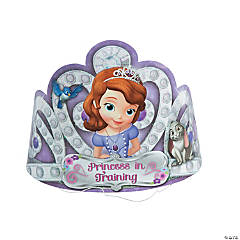 Paper Sofia the First Tiaras