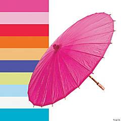 Paper Solid Color Parasols