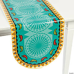 Paper Southwest Chilies Table Runner