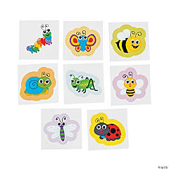 Paper Spring Bugs Wiggle Eye Stickers
