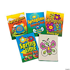 Paper Springtime Activity Pad Assortment
